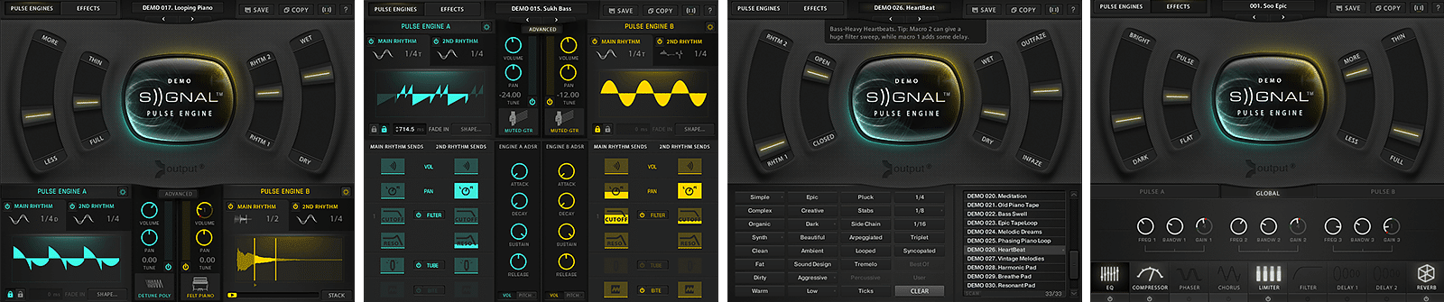 Signal Free By Output | Signal GUI