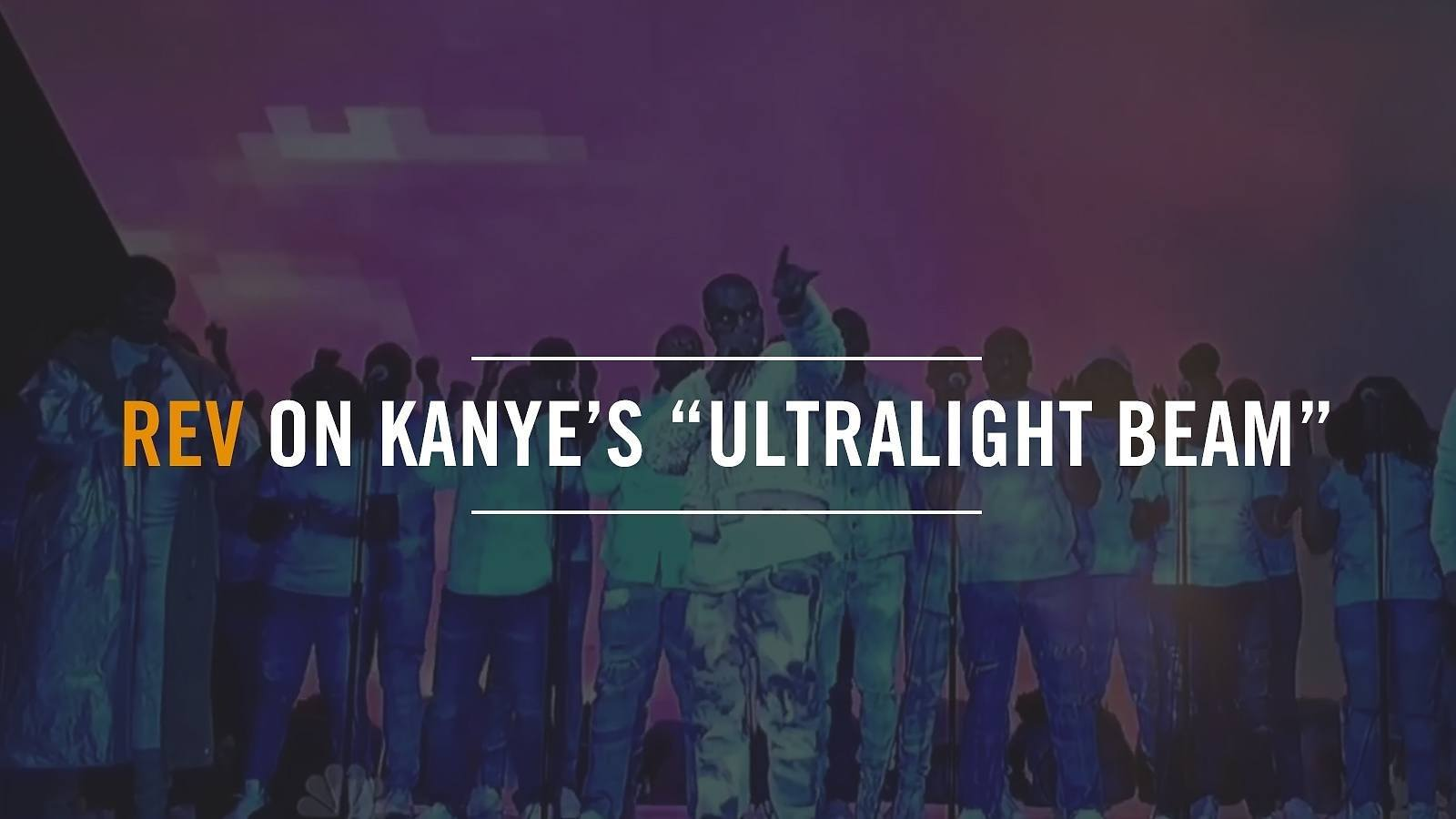 REV by Output on Kanye West's Ultralight Beam