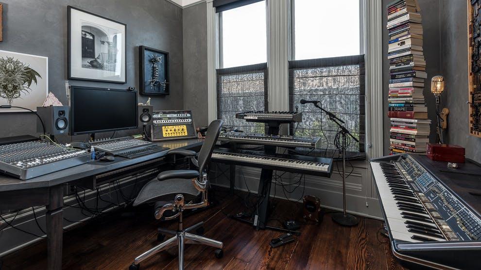 Home studio in San Francisco