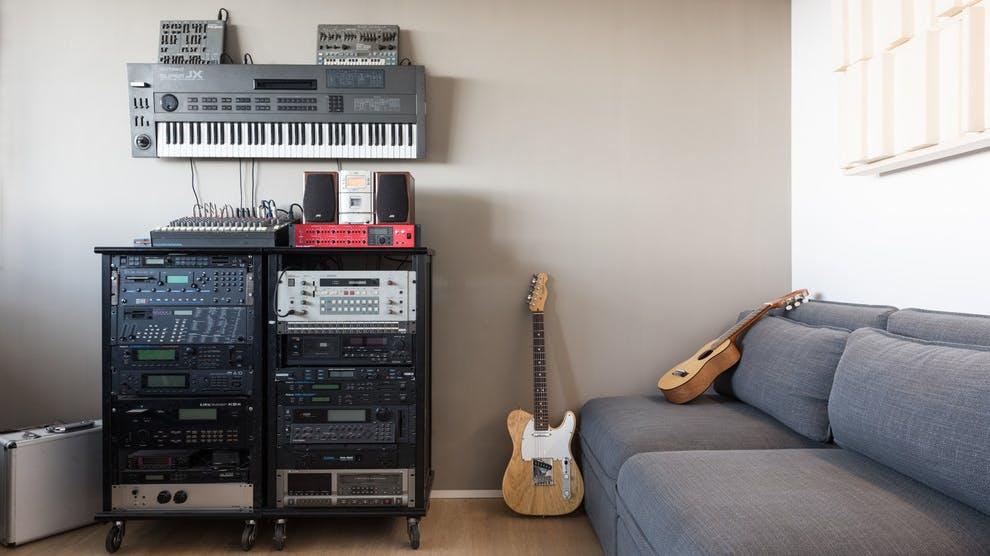 Home studio in Rome