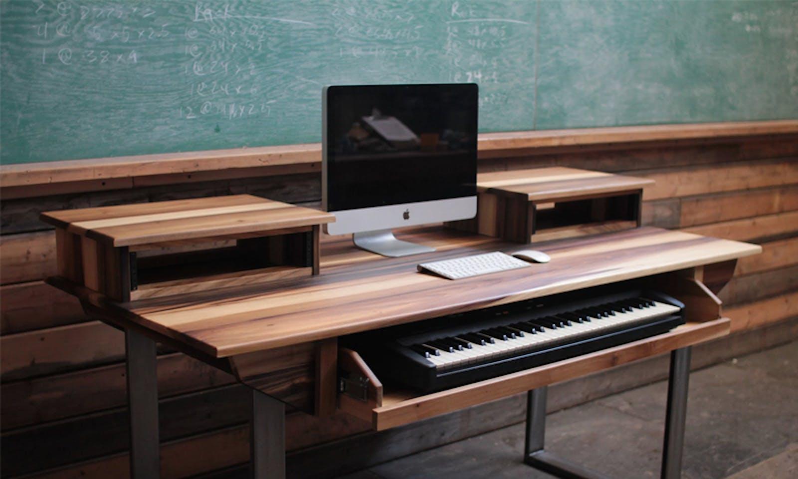 Monkwood music studio desk