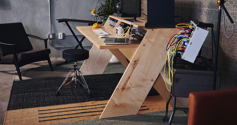 Output Platform music studio desk
