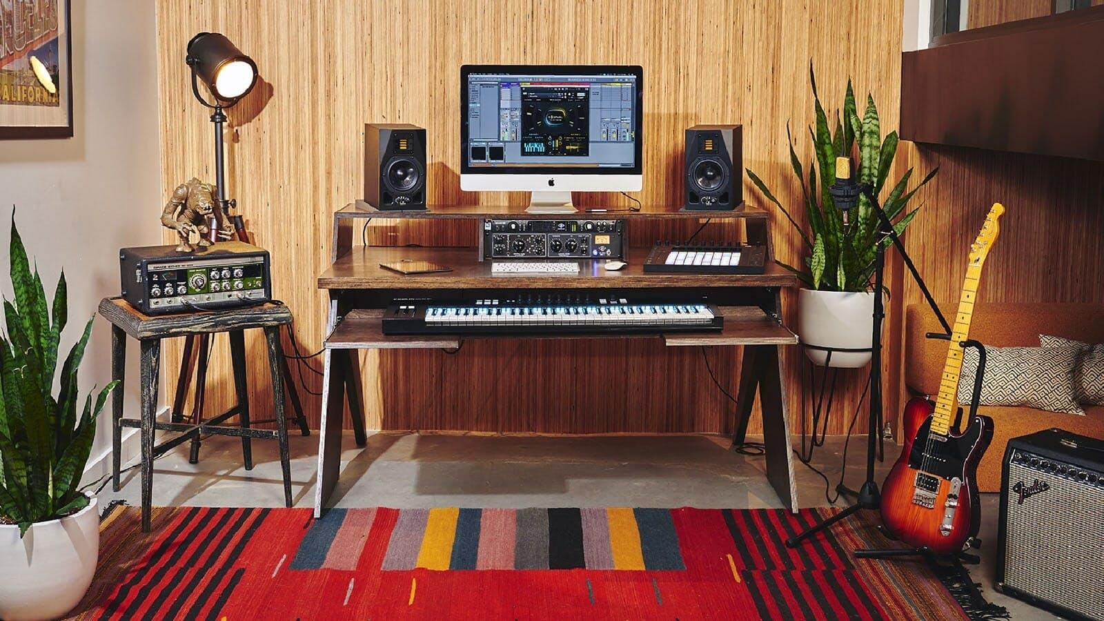 20 Affordable Music Studio Desks for Home Producers   Output