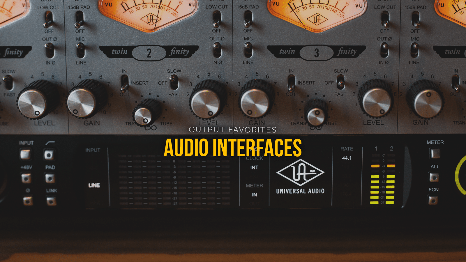 Best home audio interfaces