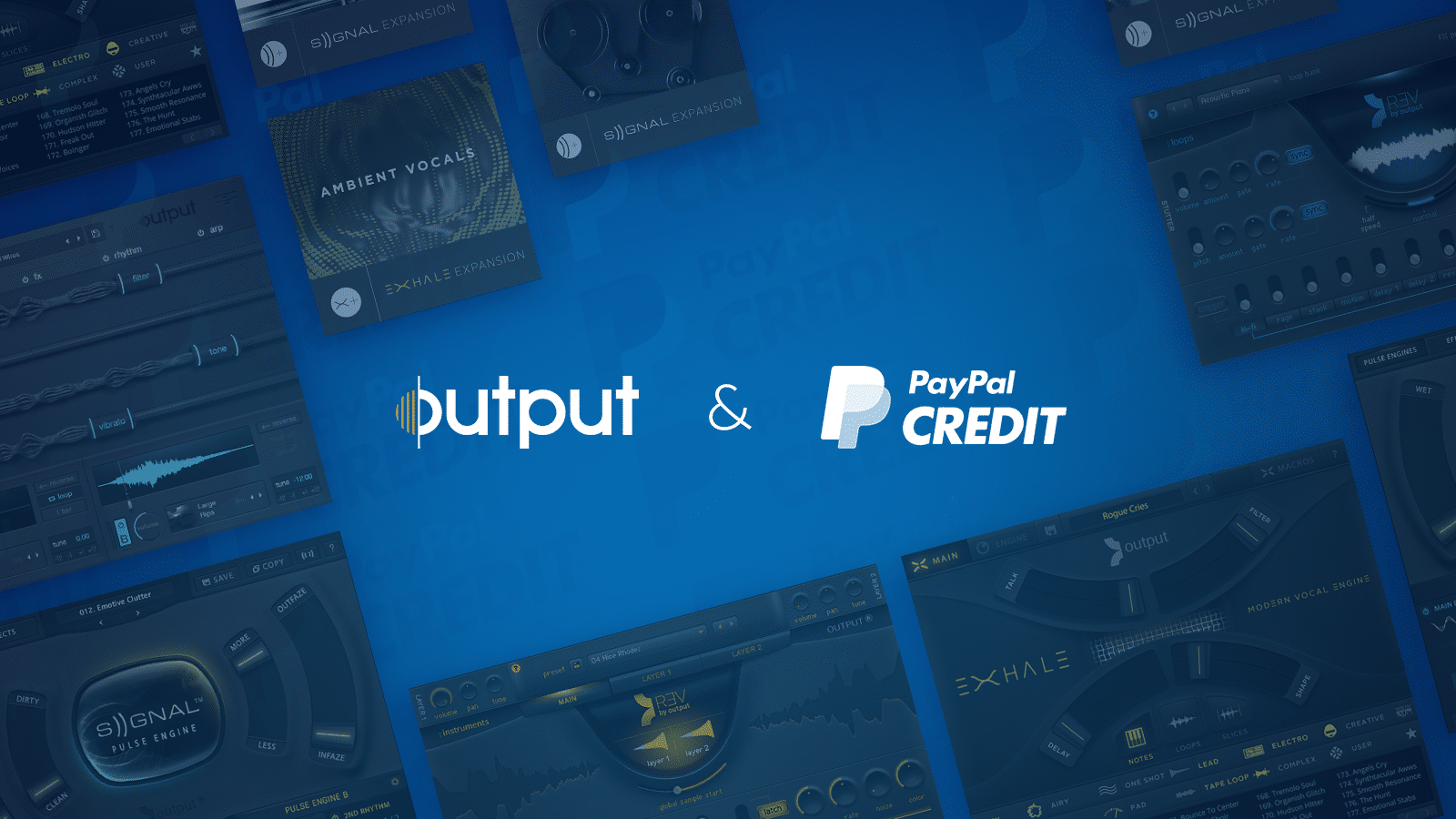 Output & PayPal Credit How-To