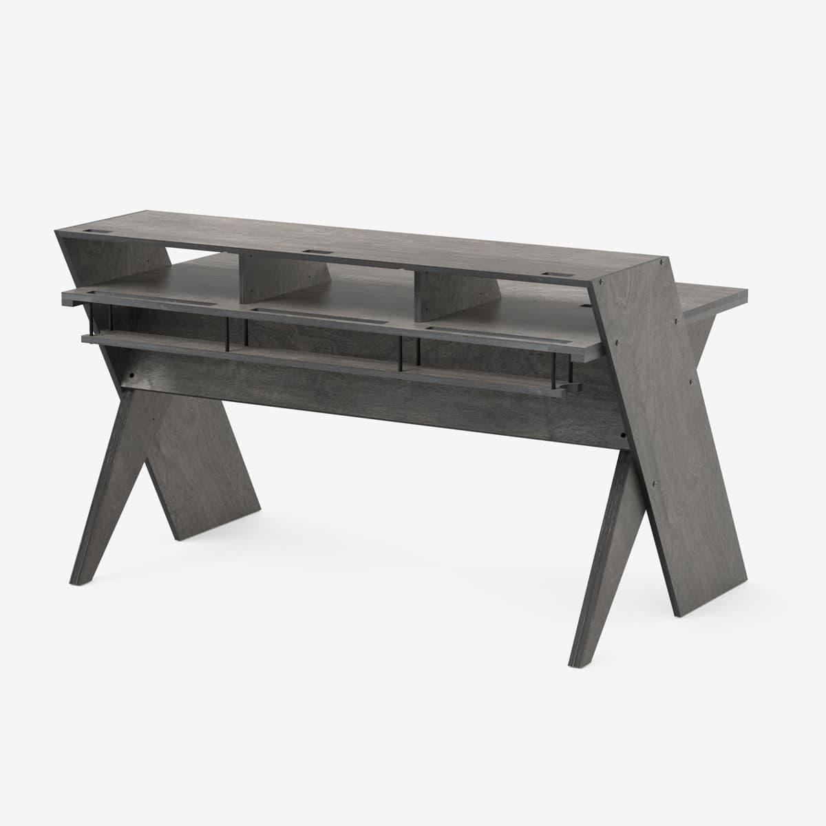 Driftwood Grey Platform Desk