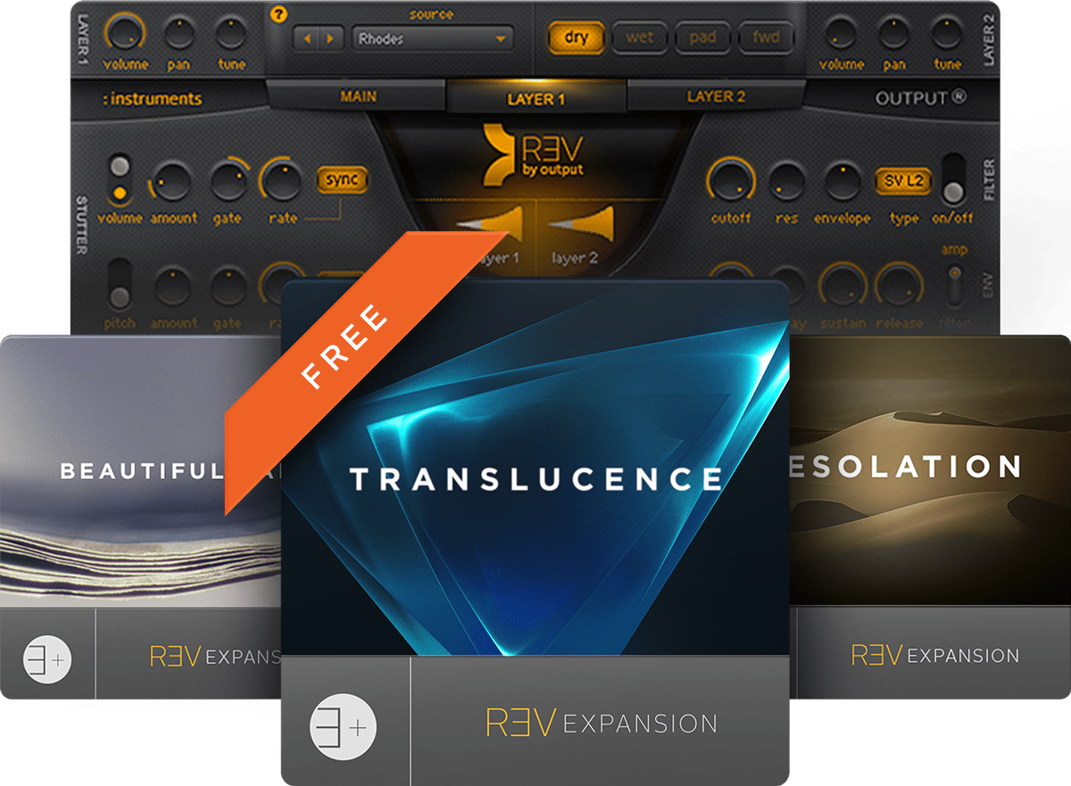 Output   Creative Music Software & Virtual Instruments