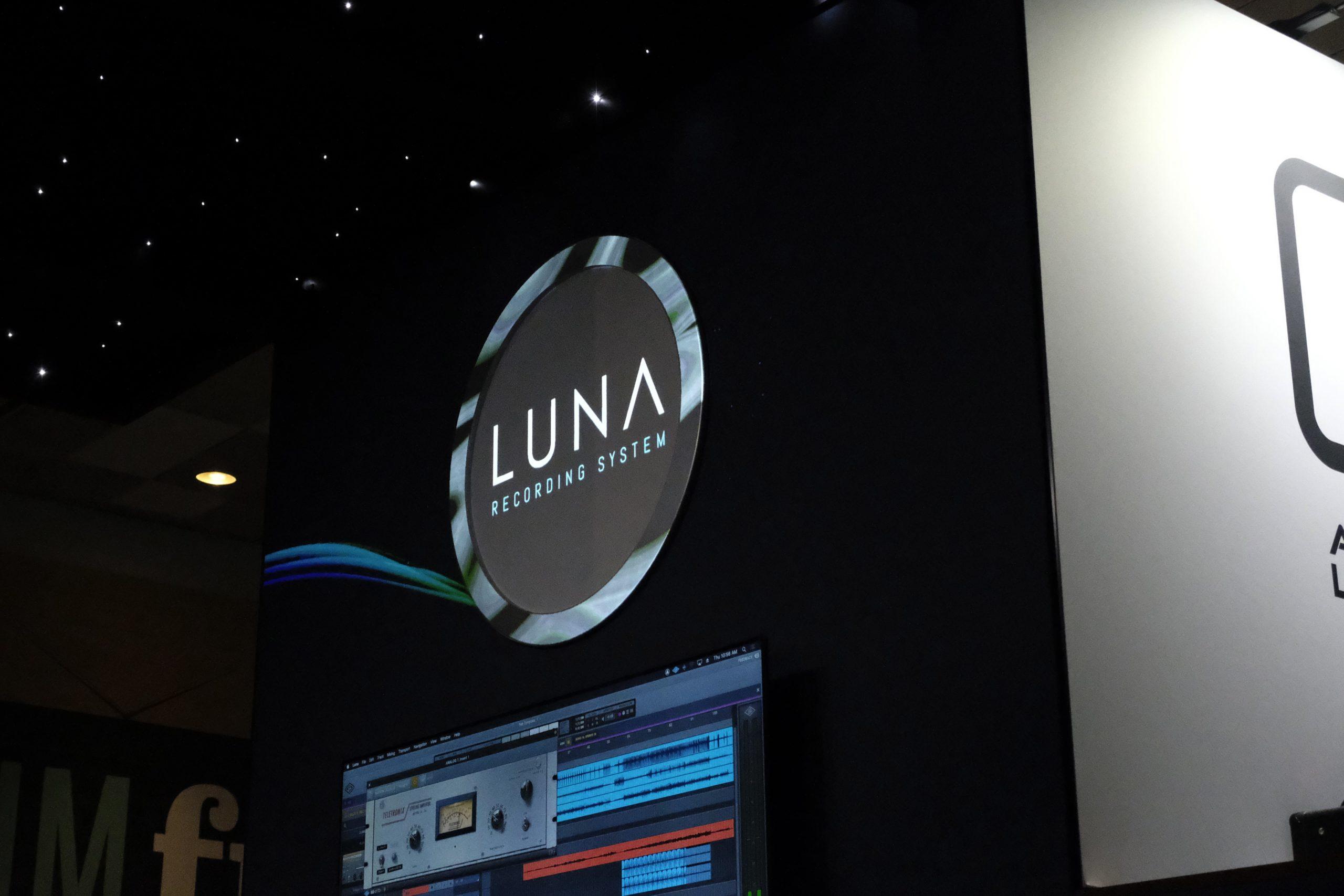 Universal Audio LUNA recording system logo