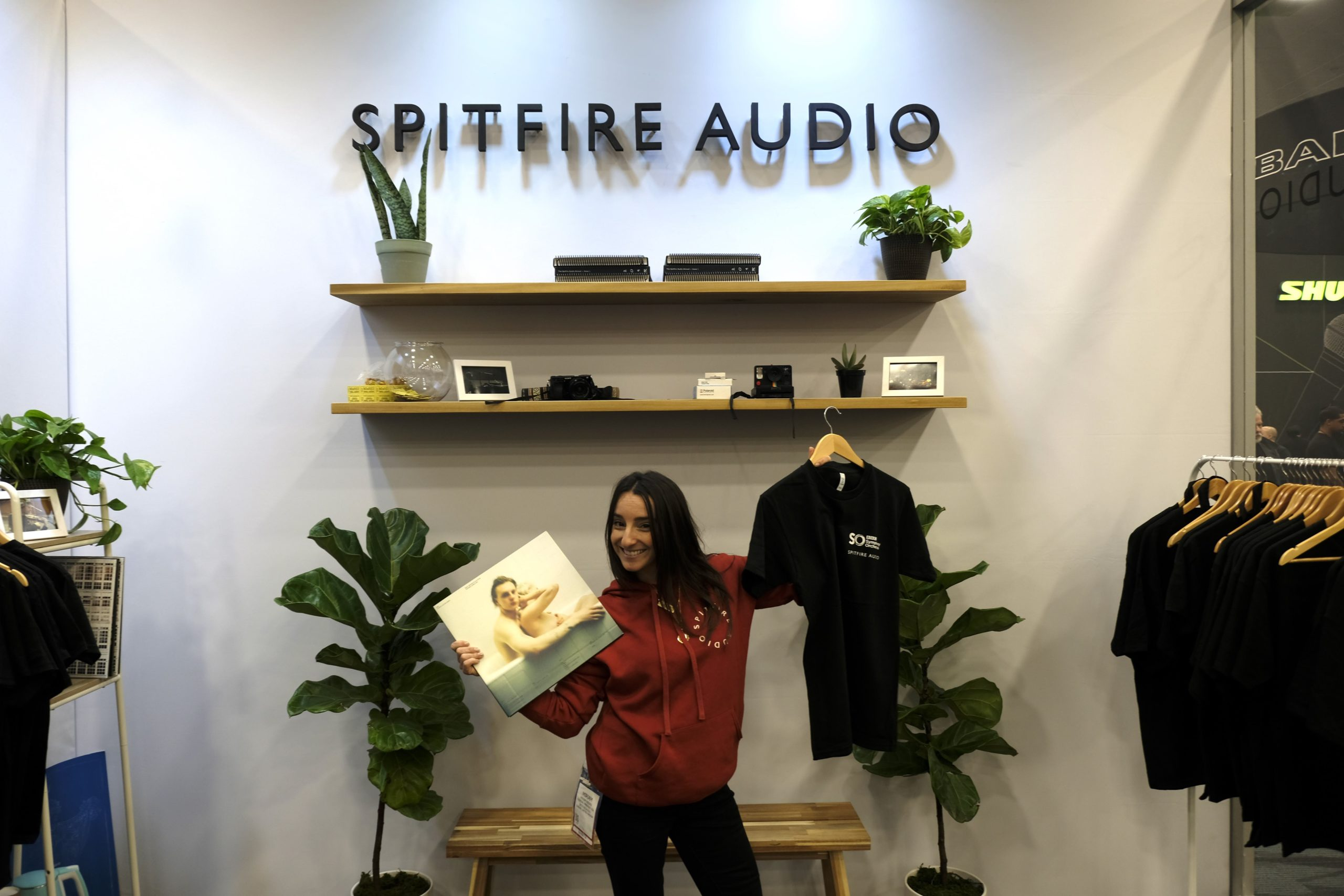 Spitfire Audio booth at NAMM