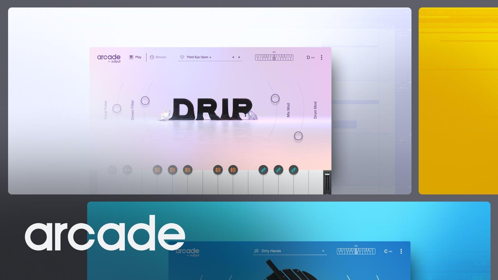 Drip ARCADE Line for hip-hop samples