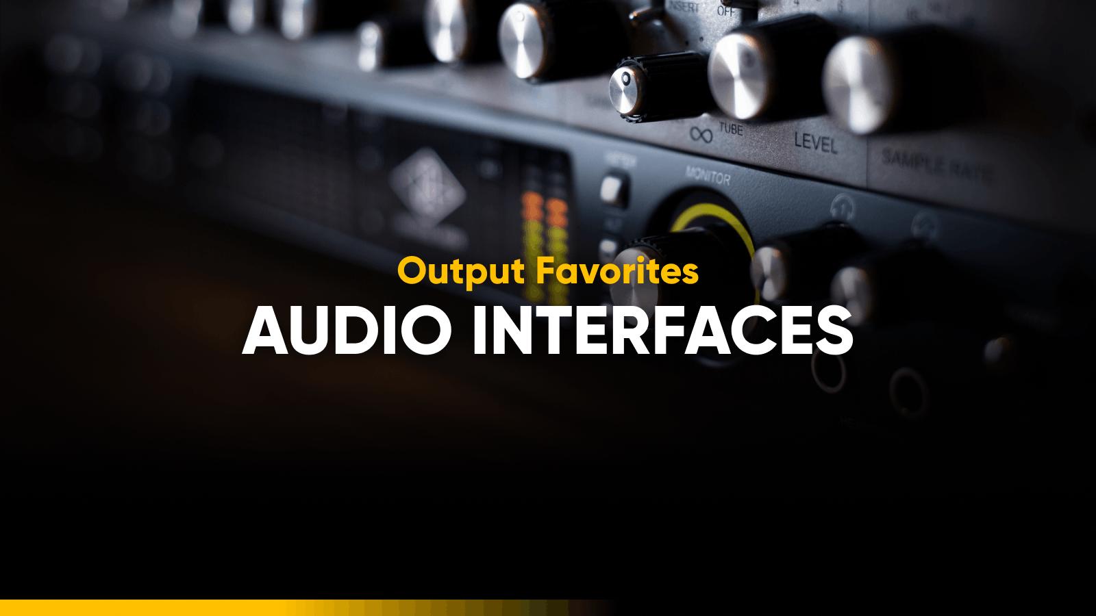 Best audio interfaces roundup