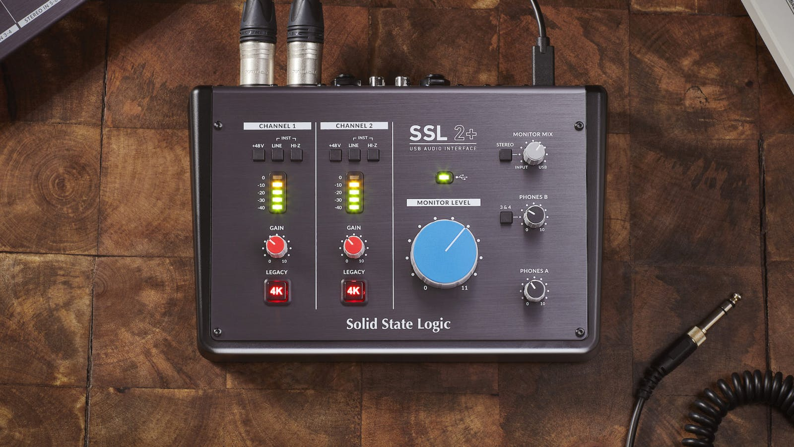 Solid State Logic SSL2+ audio interface