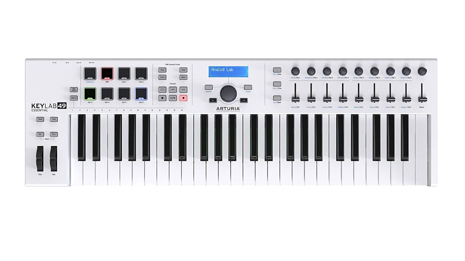 Arturia KeyLab Essential (49-key) MIDI keyboard