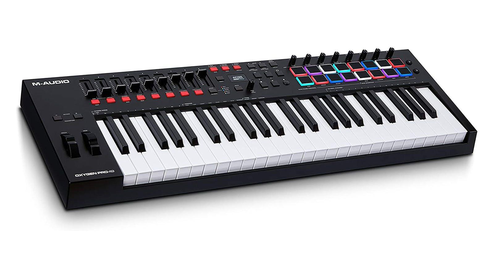 M-Audio Oxygen Pro (49-key) MIDI keyboard