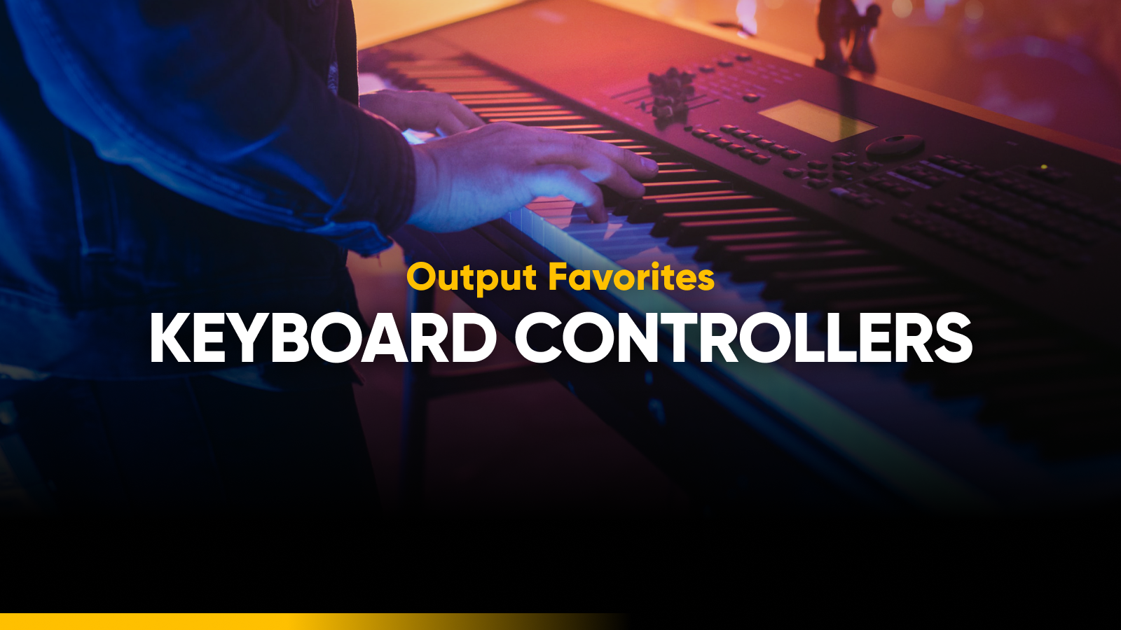 Best MIDI keyboard controller roundup