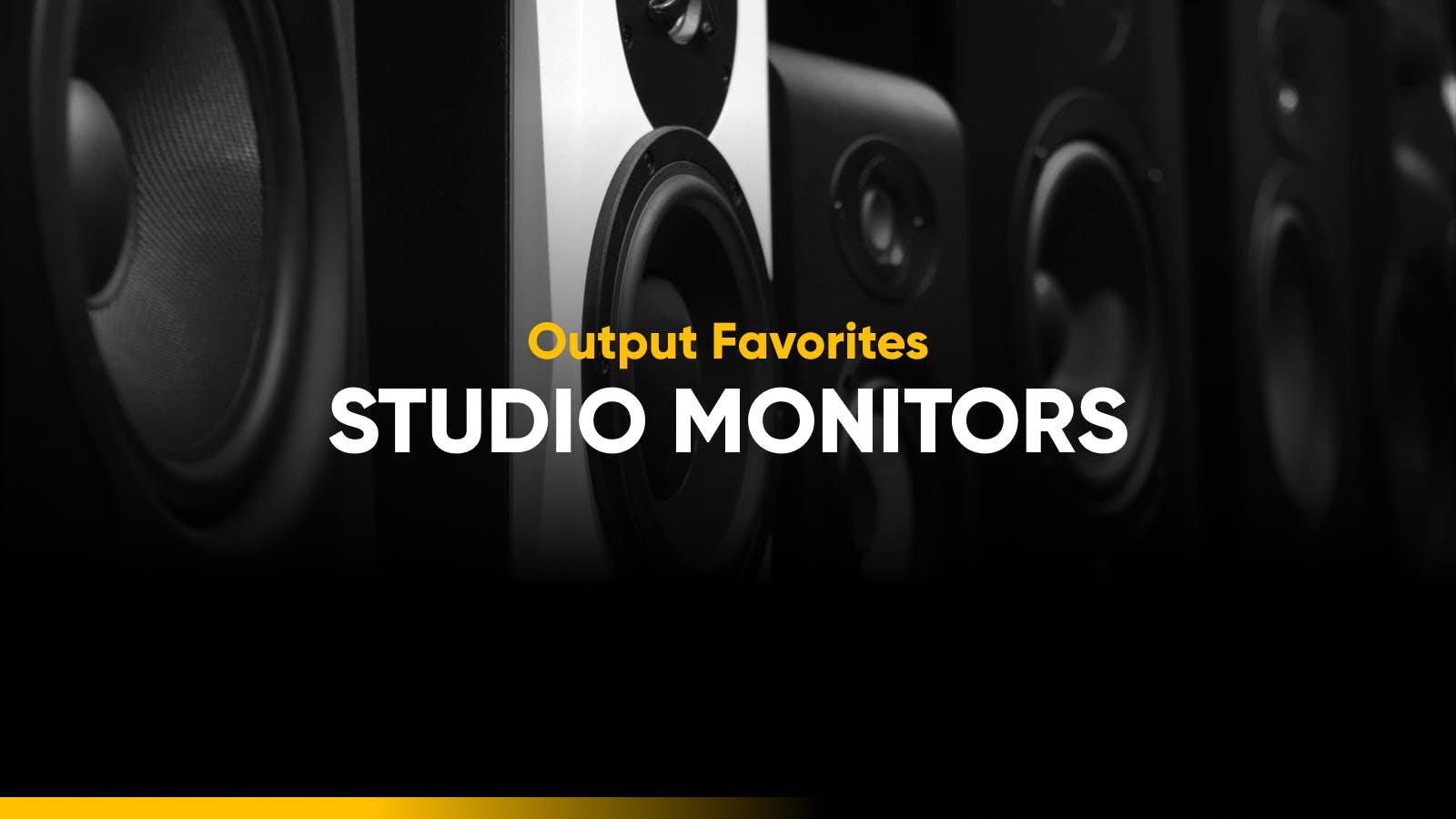 Best studio monitors list