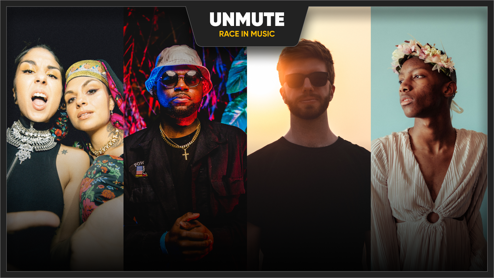 Krewella, Moore Kismet, G-Buck, and Spencer Brown for UnMute discussion